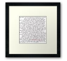 Explosions In The Sky - A Cold Dead Place Framed Print