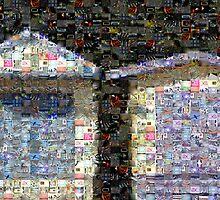 beach mosaic 2 by Greg Carrick