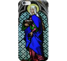 Stained Glass - Prague, St. Vitus Cathedral 4 iPhone Case/Skin