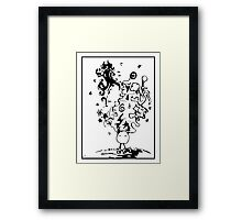 Where is my mind? Framed Print