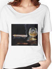 Cigar & Brandy Women's Relaxed Fit T-Shirt
