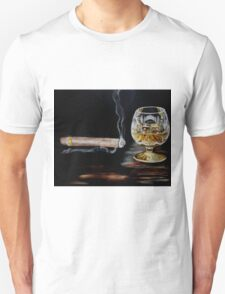Cigar & Brandy Unisex T-Shirt