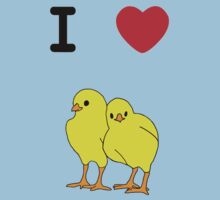 I Love Chicks by Maisie Woodward