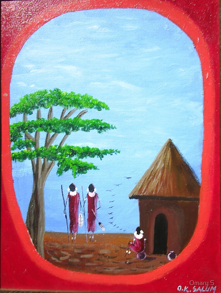 Women at home by Omary S