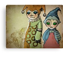 Jesters Canvas Print
