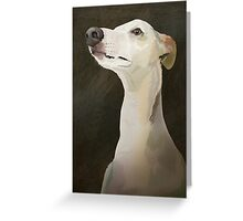 Bilbo the Whippet Greeting Card