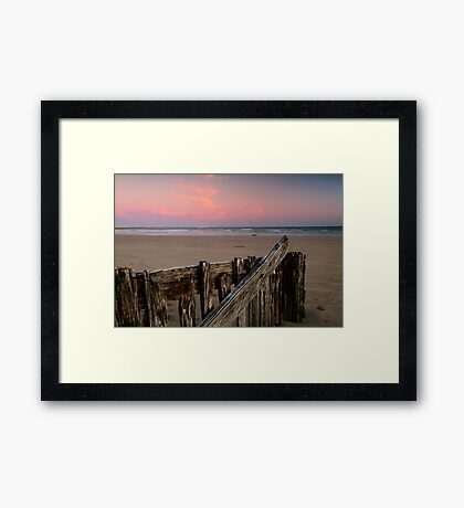 Twilight, Raaf's Beach,Bellarine Peninsula Framed Print