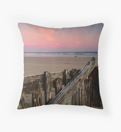 Twilight, Raaf's Beach,Bellarine Peninsula Throw Pillow