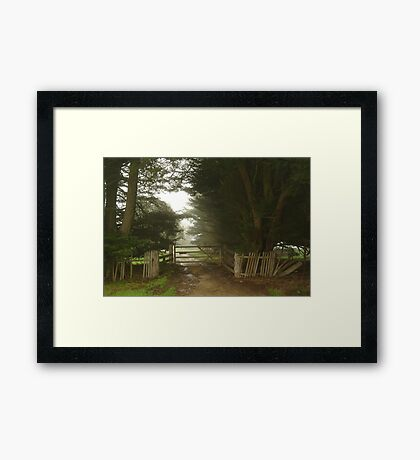 Farm Entrance Framed Print