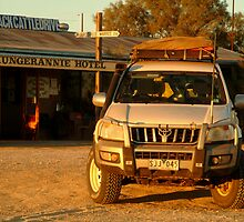 Mungerannie Hotel Birdsville Track by Joe Mortelliti