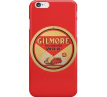 Gilmore Polishing Wax iPhone Case/Skin