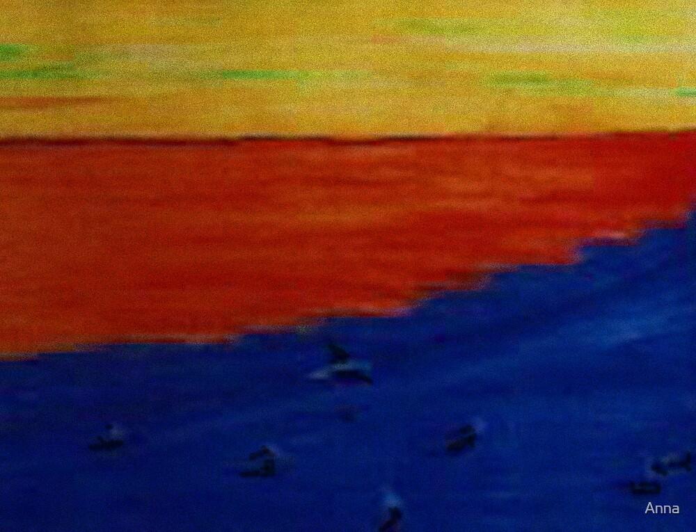 'Beach 2' 2001 by Anna