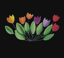 Seven colorful tulips Kids Clothes
