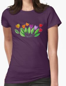 Seven colorful tulips T-Shirt