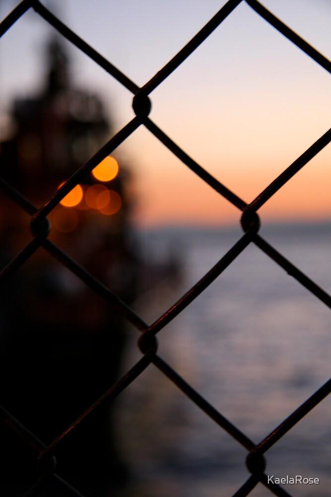 Fence Before the Sea by KaelaRose