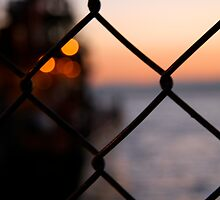 Fence Before the Sea by KaelaRose