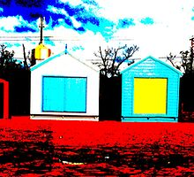 Beach Box 1 - Coloured Sands series by 3rdEyeOpen
