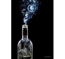 Smokin' Vodka Photographic Print