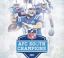 2013 AFC South Champions - Indianapolis Colts by dmorson