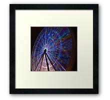 Ferris Wheel #1 Framed Print