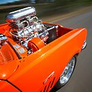 Orange Holden HG Monaro GTS rig shot by John Jovic