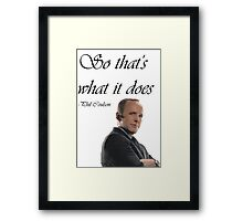Phil Coulson Framed Print