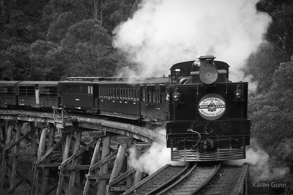 ~ Puffing Billy ~ by Karen Gunn