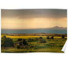 Sunset Corio Bay Poster