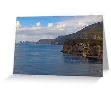 Tasman Peninsula Greeting Card