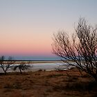 Salt Pan, Simpson Desert, S.A. by Joe Mortelliti