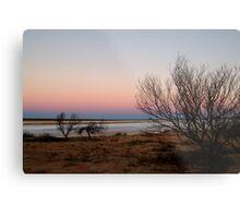 Salt Pan, Simpson Desert, S.A. Metal Print