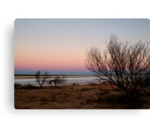 Salt Pan, Simpson Desert, S.A. Canvas Print