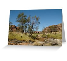 Bungle Bungles,Outback W.A. Greeting Card