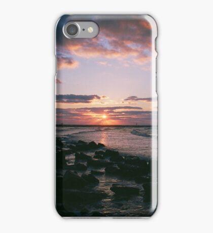Galveston, TX sunrise iPhone Case/Skin