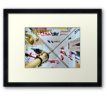 Hills Hoist Framed Print