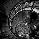 The Downward Spiral - Paris, France by Norman Repacholi