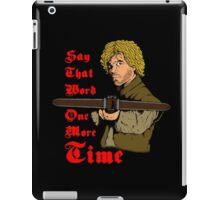 I Dare You iPad Case/Skin