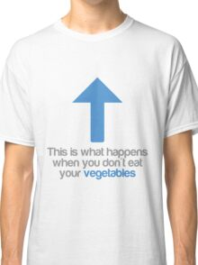 This is what happens when you don't eat your vegetables Classic T-Shirt