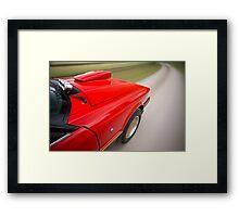 Red Ford XE ESP rig shot Framed Print