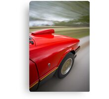 Red Ford XE ESP rig shot Canvas Print