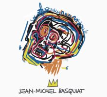 Jean Michel Basquiat Head by tiffani revels
