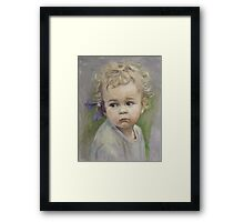 """Little flower"" Framed Print"