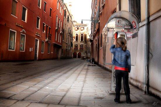 Venice Phone Call by Paul Vanzella