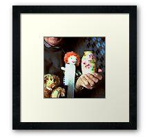 Object Portrait (Neil) Framed Print