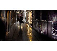 Venice Rain Photographic Print