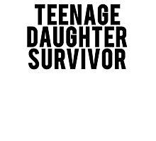 Teenage Daughter Survivor Photographic Print