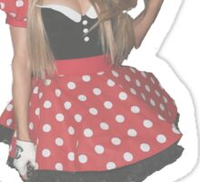 Paris Hilton Minnie Mouse Sticker