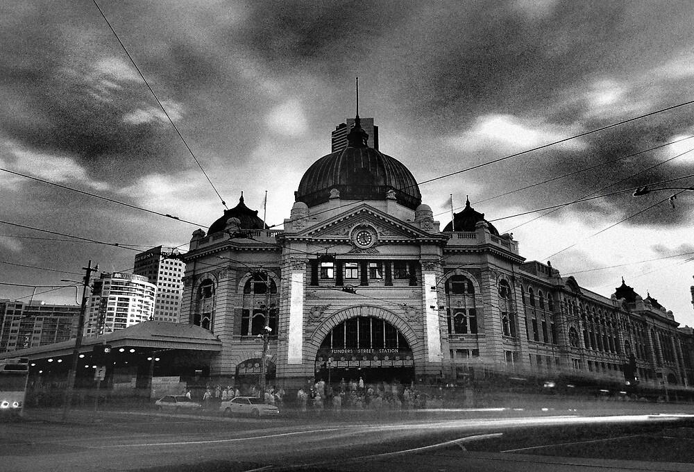 Flinder street station by Alex Lau