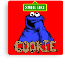 Smell Like Cookie! Canvas Print