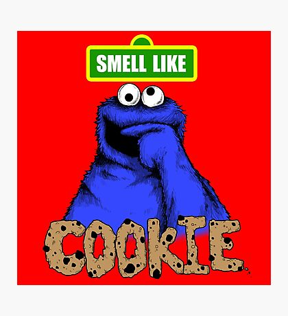 Smell Like Cookie! Photographic Print